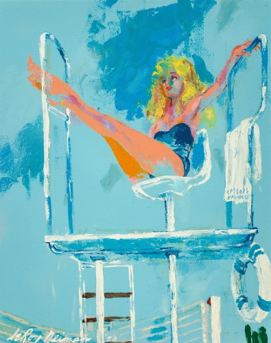 LEROY NEIMAN  lifeguard The Girls of Caesars Palace